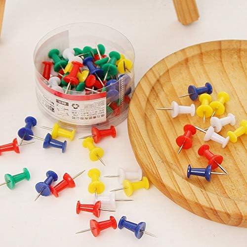 160 broches standard punaises dans 2 bo/îtes Pin color/é carte tachas chinchetas Papeterie Accessoires de bureau Fournitures scolaires 6575