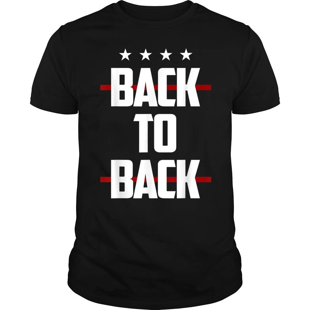 National Soccer Back To Back Four Stars 2019 Tshirt