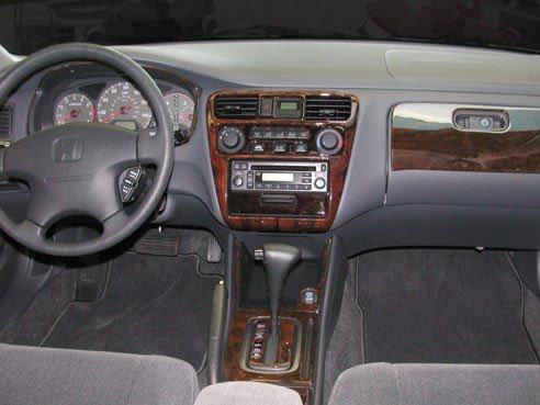 Honda accord 4 door sedan interior burl wood dash trim kit - 2000 toyota solara interior door handle ...