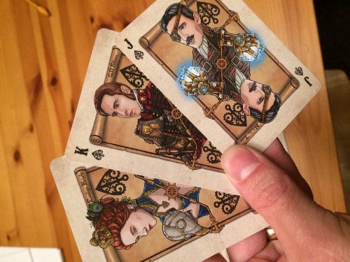 Bicycle Steampunk Pirates Playing Cards 5
