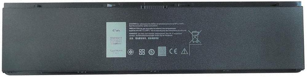 FLIW E7440 34GKR Replacement Battery Compatible with Dell Latitude 14-7000 E7440 E7420 E7450 Ultrabook 7000 3RNFD 34GKR F38HT T19VW PFXCR G0G2M 909H5 451-BBFT 451-BBFV 451-BBFY [47Wh 7.4V]