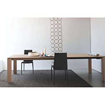 Inside 180300100cm Xl Extensible En Table Sigma Repas Bois Pnw80Ok