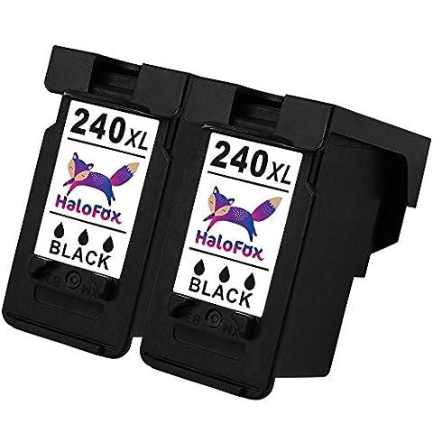 HaloFox Remanufactured Ink Cartridge Replacement PG-240XL CL-241XL For PIXMA MX392 MX432 MX439 MX452 MX459 MX472 MX479 MX532 MG2120 MG3120 MG3122 MG3220 MG3222 MG3520 MG3522 MG3620, 2 Pack (Pixma Mx 472)