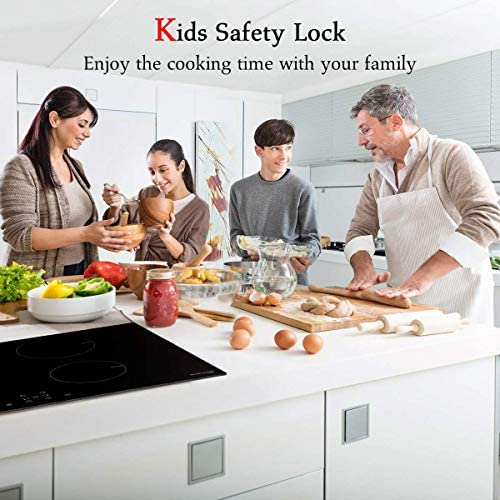 Amazon.com: Placa de inducción, cocina de inducción GASLAND ...