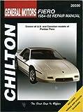 Pontiac Fiero, 1984-88, Chilton Automotive Editorial Staff, 0801990645