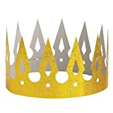 Prismatic Paper Gold Crown