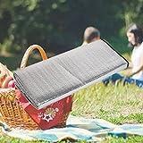 Forfar Aluminum Camping Mat Portable Waterproof Dampproof Picnic Mat Beach Sleeping Tent Mat Pad 79x39 inch