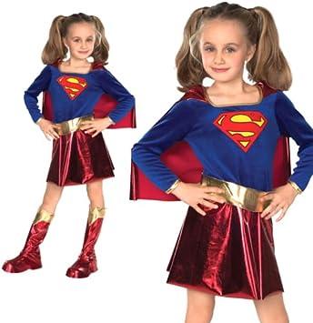 Forever Young - Disfraz de Supergirl para niña: Amazon.es ...