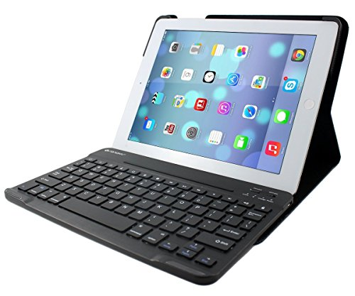 SANOXY iPad2 iPad3 iPad4 Case with Bluetooth Keyboard for Apple iPad Wifi/3G, iPhone 3G, 3GS, 4, iPod Touch, PC, Laptops, PS3 And Mobile Smart Phones