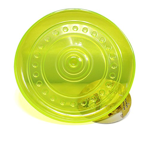 TufToys Big 9'' Dog Frisbee Toys - Interactive Dogs Toy Made Tough ThermoPlastic Rubber by TufToys