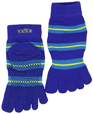 Toesox Full Toe With Grip Yogapilates Toe Socks from ToeSox