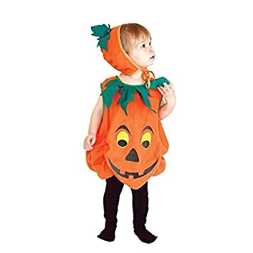 Baby Halloween Pumpkin.Buy Baby And Blossoms Children Pumpkin Halloween Costumes Online At Low Prices In India Amazon In