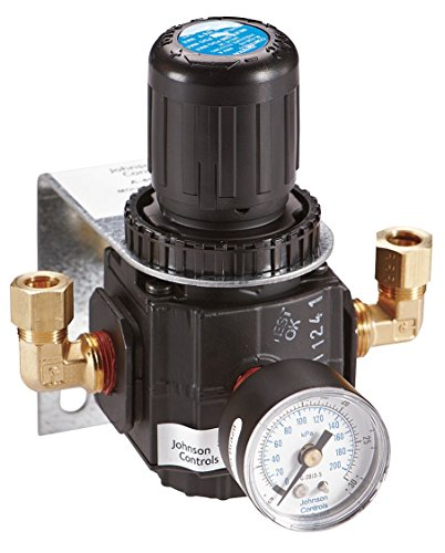 "Johnson Controls, A-4000-138, Pressure Reducing Valve 3/8"" w/ Mounting Bracket from Johnson Controls"