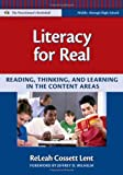 img - for Literacy for Real: Reading, Thinking, and Learning in the Content Areas (Language and Literacy Series) book / textbook / text book