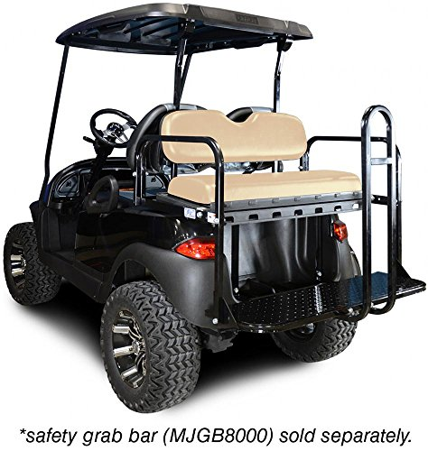 Madjax 01-001 Genesis 150 Rear Flip Seat Kit for 2004-Up Club Car Precedent Golf Carts Buff -