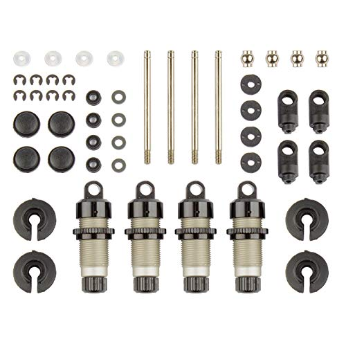Team Associated Threaded Shock Set Aluminum: CR12, ASC41020