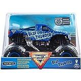 Monster Jam, Official Blue Thunder Monster Truck, Die-Cast Vehicle, 1: 24 Scale