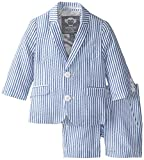 Appaman Baby Boys' 2 Piece Shorts Suit (Baby) - Seersucker - 12-18 Months