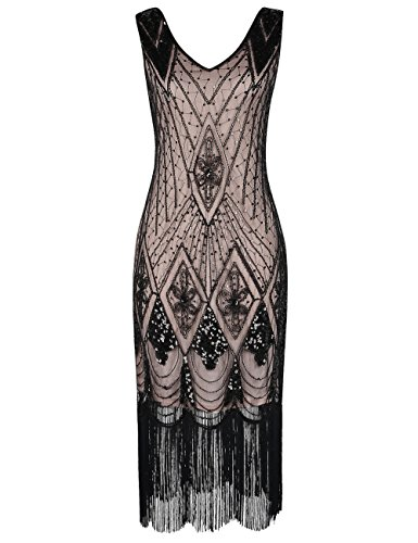 20s art deco dress - 7