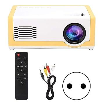 ASHATA Mini proyector portátil, proyector de Sonido HiFi con ...