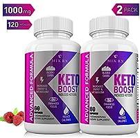 Keto Diet Pills w/ Carb Blocker - 2 Pack | 120 Capsules