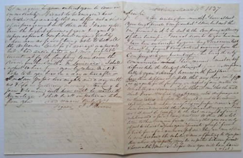 (Scarce Autographed Letter Signed as Postmaster General of Baltimore)