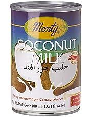 Monty Coconut Milk, 400 ml