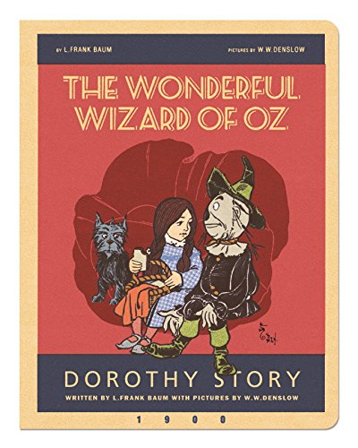 (The Wonderful Wizard of Oz Stitch Large Blank Notebook: Oz6830)