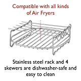 3hproducts Airfryer Double Layer Rack Accessory and