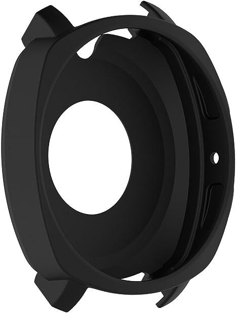 D DOLITY Smartwatch LCD Display Antipolvere Coperchio Custodia per Samsung Gear Sport R600 Bianca