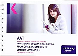 Aat Financial Statements of Limited Companies - Pocket Notes (Aat Pocket Notes Aq2016)