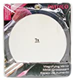 Swissco Suction Cup Mirror, 9 1/4 Inches, 7x