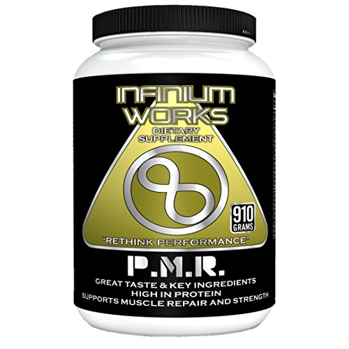 (PMR Protein Meal Replacement Shake - Nutritional protein shake mix [essential Whey protein, vitamins, BCAA, Creatine, Omega 3] Healthy muscle strength Dietary Supplement by Infinium Works)