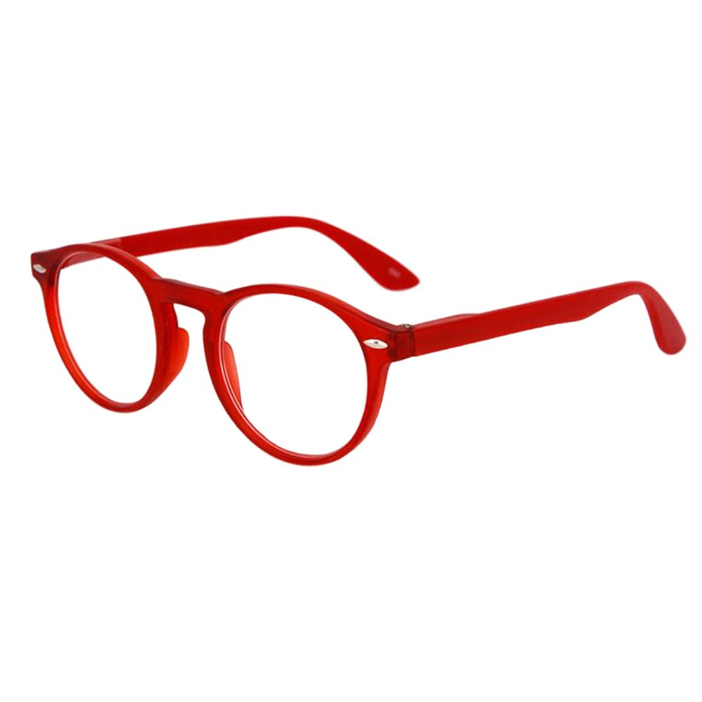 Fuyingda Round frame retro reading glasses Strength optional +1.00 to +4.00