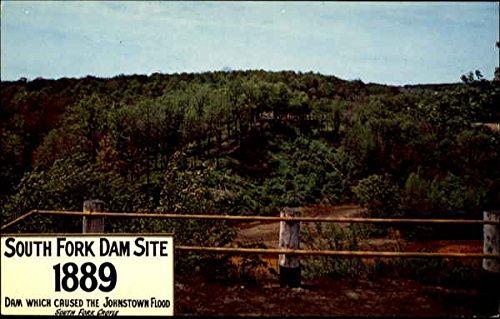South Fork Dam Site South Fork, Pennsylvania Original Vintage -