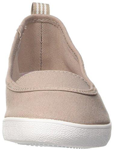 adidas Cf Qt Vulc So W, Zapatilla de Deporte Baja del Cuello, Mujer Beige (Vapgre/Ftwwht/Lgtorc)