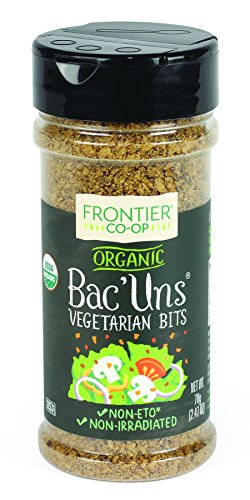 (Frontier Vegetarian Bits Bac'uns Certified Organic, 2.47 Ounce Bottle (Pack of 6))