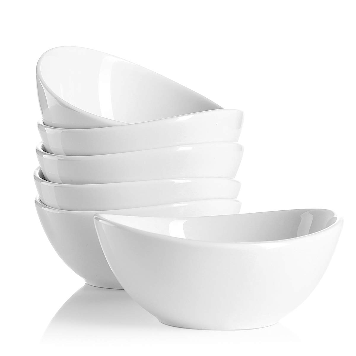 Hot Assorted Colors Sweese 1107 Porcelain Bowls Set of 6 Dessert 10 Ounce for Ice Cream