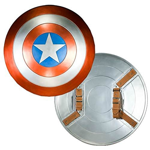 [Captain America Avengers Movie Shield 1:1 Prop Replica] (Captain America Uniform)