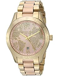Michael Kors Womens Layton Gold-Tone Watch MK6476
