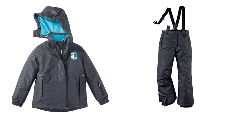 Mädchen Skianzug Skijacke Skihose Jacke Hose Schneeanzug Snowboardjacke Größe 134/140
