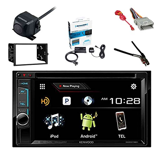 Withwithout auto scan 35mm car fm music transmitter with handsfree kenwood ddx574bh dvd receiver with sirius sxv300v1 radio tuner kenwood cmos130 rearview backup camera metra double din installation dash kit greentooth Image collections