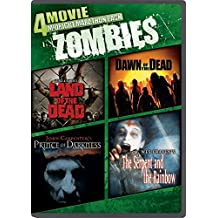 4-Movie Midnight Marathon Pack: Zombies: Land of the Dead / Dawn of the Dead / Prince of Darkness / The Serpent and the Rainbow