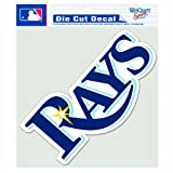 MLB Tampa Bay Devil Rays 8-by-8 Inch Diecut Colored Decal