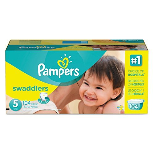 Procter & Gamble Pampers 10037000863752 Swaddlers Diapers...