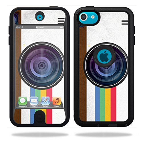 MightySkins Protective Vinyl Skin Decal for OtterBox Defender iPod Touch 5G Case wrap cover sticker skins Vintage Polaroid