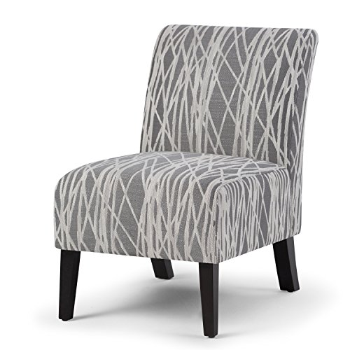 Pattern Upholstered Accent Chair - 7