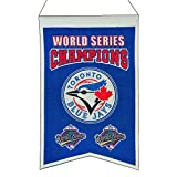 MLB Toronto Blue Jays WS Champions Banner, One Size