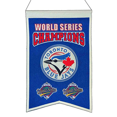 Winning Streak MLB Toronto Blue Jays WS Champions Banner, One (Toronto Blue Jays Banner)