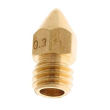 F Fityle - Boquilla extrusora de Metal de 0,3 mm, Boquilla Nozzle ...